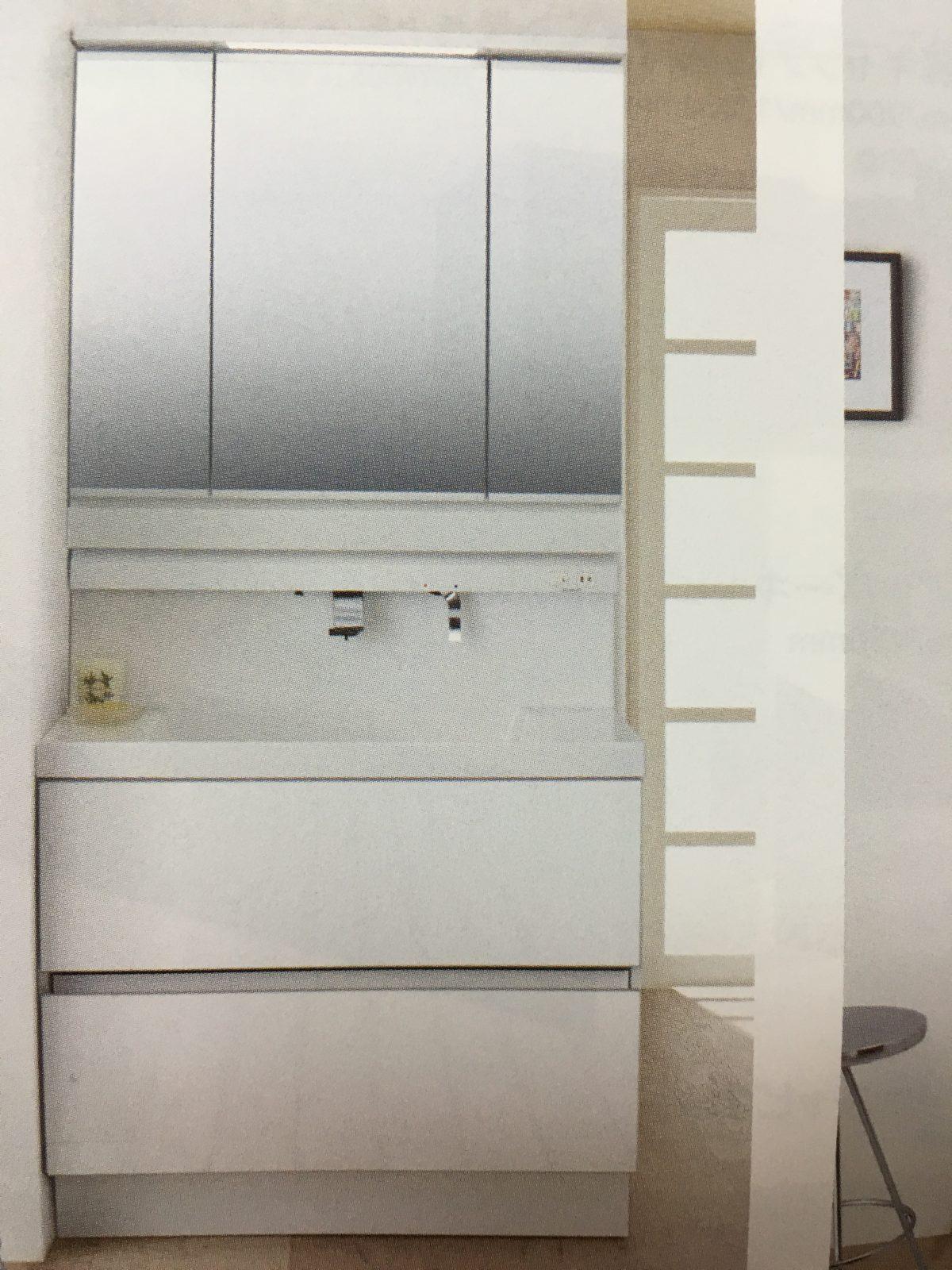 【設備】洗面台はリクシルさんのLCIDシリーズ