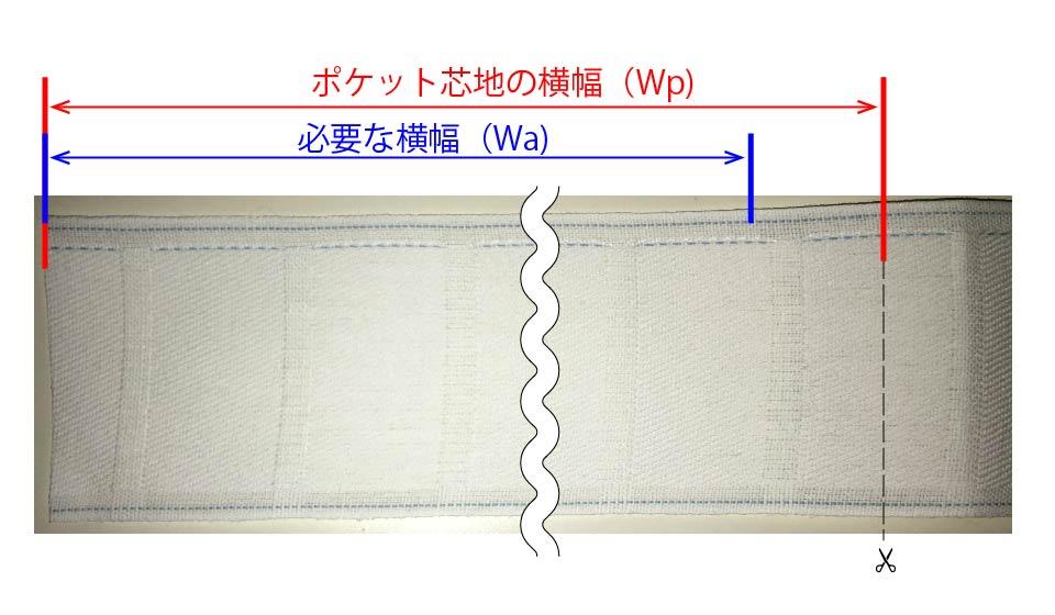 【DIY】ポケット芯地でカーテンを縫う方法(その1)