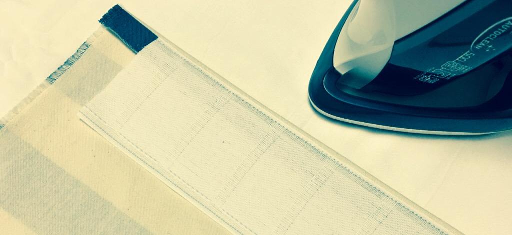 【DIY】ポケット芯地でカーテンを縫う方法(その2)