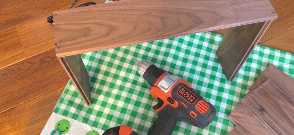 【床材でDIY】木箱を作ってみた